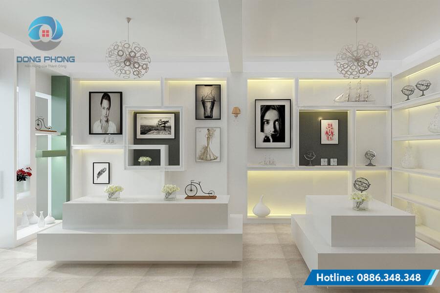 mẫu thiết kế nội thất đẹp cửa hàng