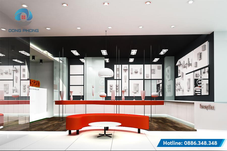 mẫu thiết kế nội thất showroom đẹp
