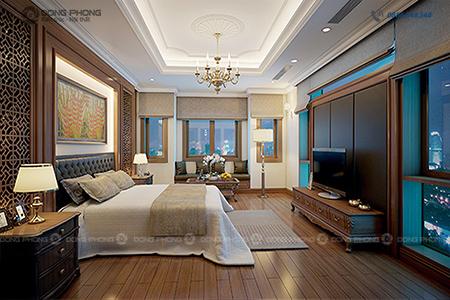 nội thất phòng ngủ 20m2 đến 25m2 dd
