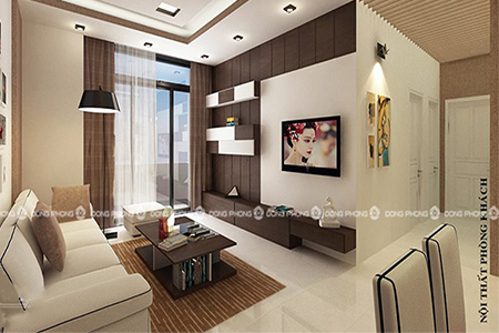 nội thất chung cư newskyline